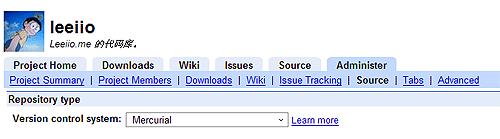 在Google Code上用 Mercurial 取代 Subversion 管理你的项目